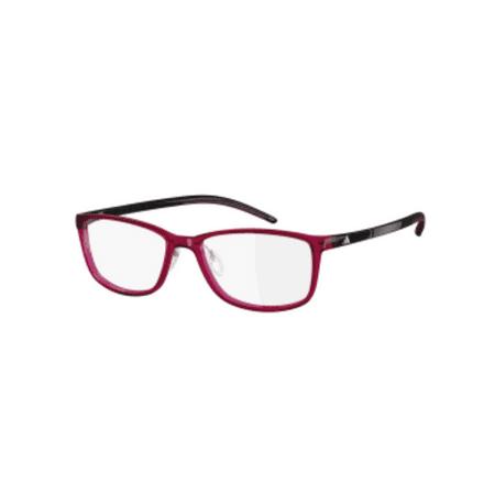 ea502a51f5 Adidas Eyeglasses Litefit A 693 10 6100 Berry Shiny Black Optical Frame  53mm - Walmart.com