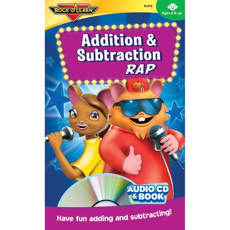 - ADDITION & SUBTRACTION RAP CD & BOOK