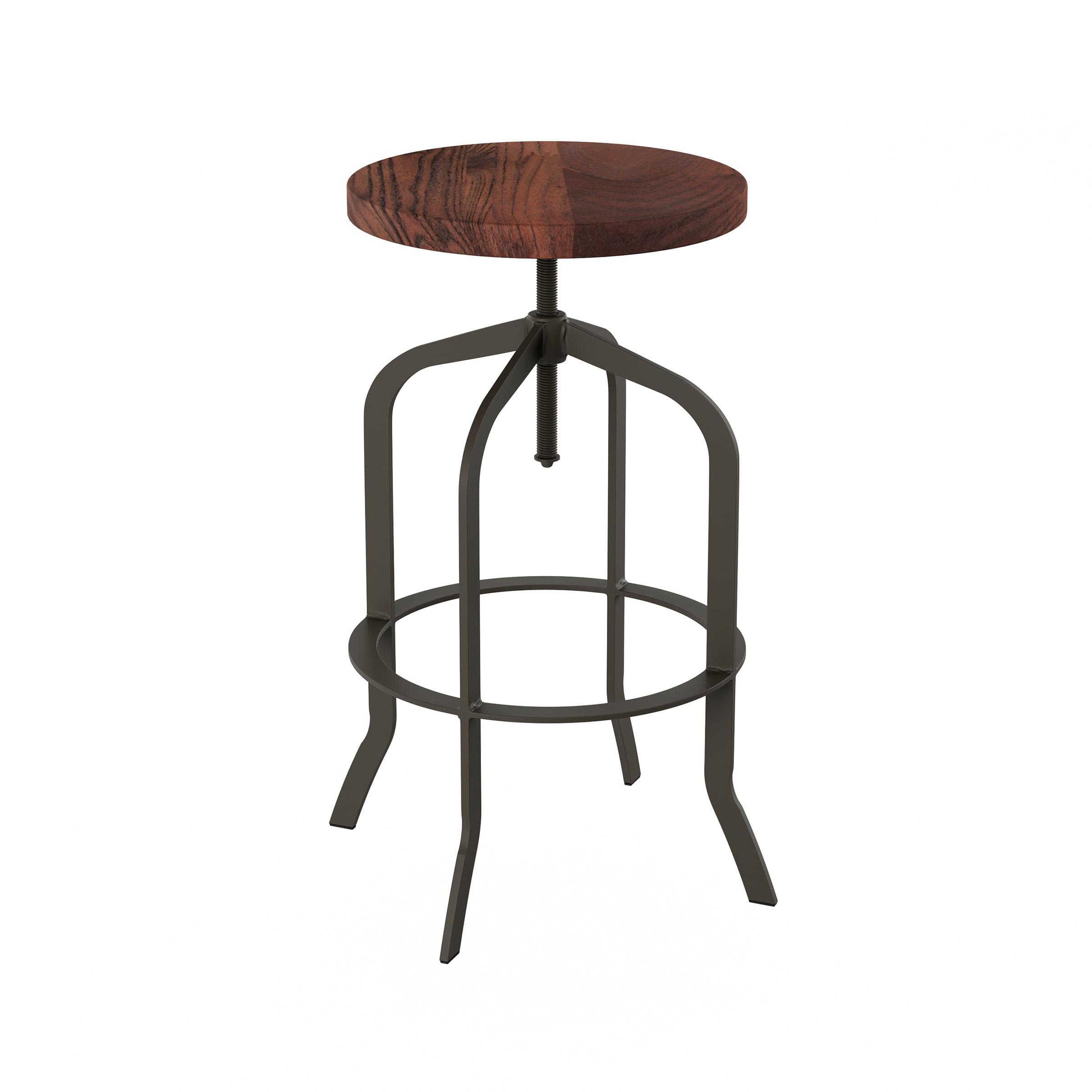 lavish home swivel bar stool counter height kitchen stool