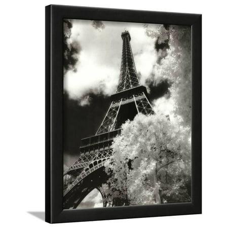 Eiffel Tower (Parc du Champ de Mars) Framed Art Print Wall Art  - 13x16