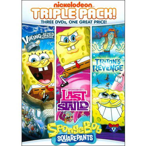 SpongeBob SquarePants Triple Feature: SpongeBob's Last Stand / Triton's Revenge / Viking Sized Adventures (Full Frame)