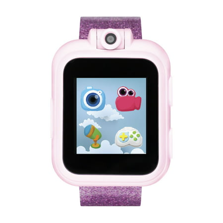 iTech Jr. Kids Smartwatch for Girls - Fuchsia Glitter