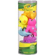 Crayola Bath Squirters Squeeze 'n Squirt, 5 Pack