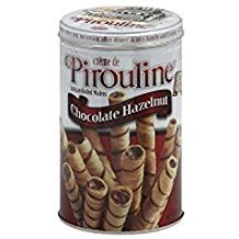 Pirouline Creme Filled Wafers Chocolate Hazelnut 14.1 Oz. Pk Of (Chocolate Cream Filled Wafers)