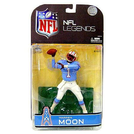 McFarlane NFL Sports Picks Legends Series 4 Warren Moon Action Figure [Blue Sleeves Variant]