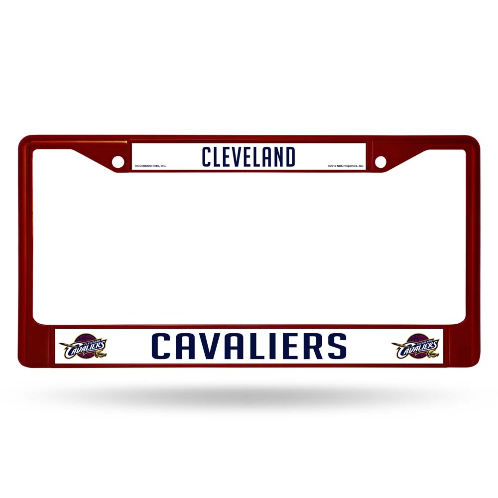 Cleveland Cavaliers Metal License Plate Frame - Maroon