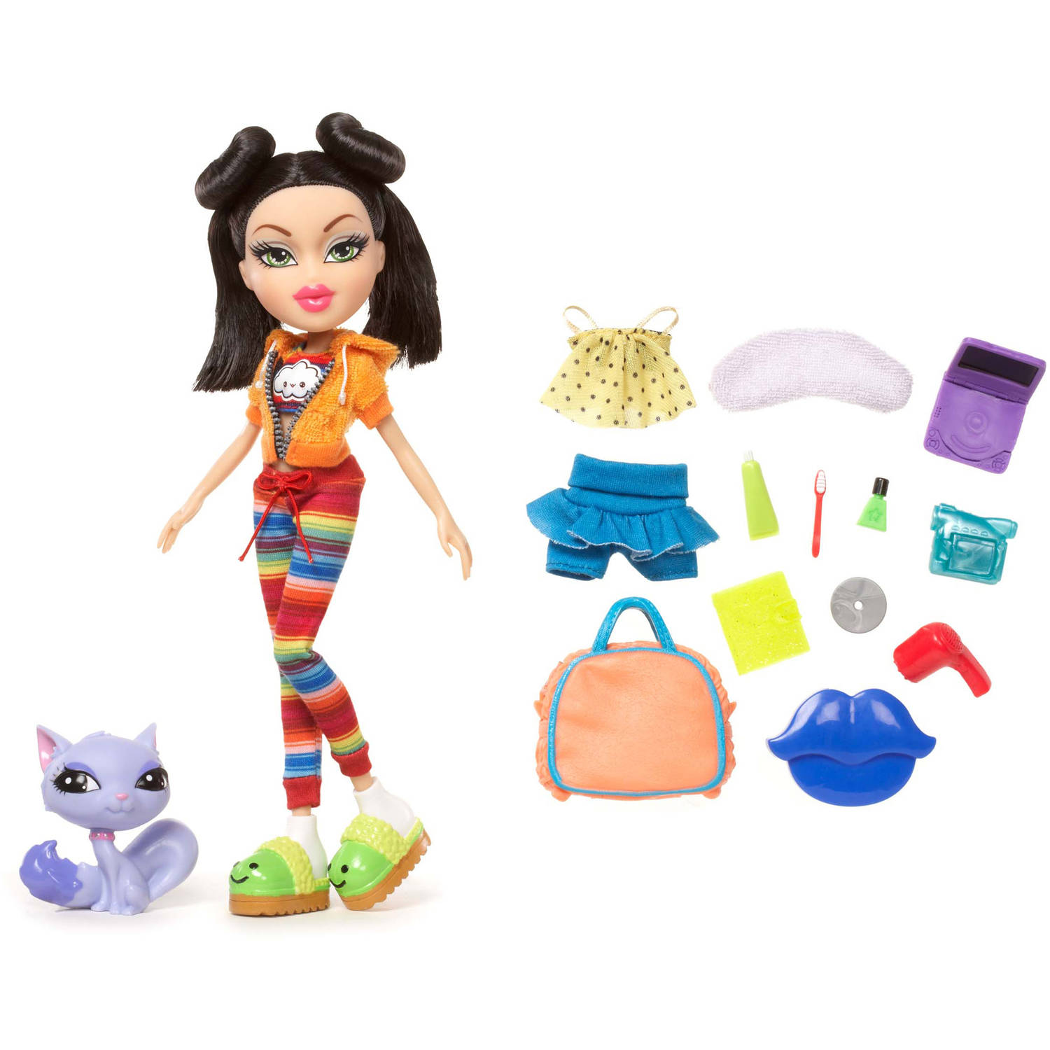 Bratz Sleepover Party Doll, Jade by CHOI'S EARLY LIGHT TECHNOLOGY (SHENZHEN) COMPANY LTD
