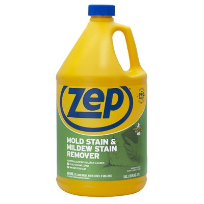 NEW Gallon Zep Commercial Scrub-Free Mildew Stain Remover Ready To Use