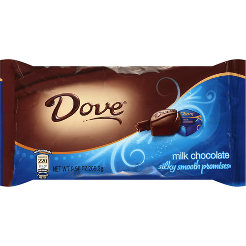Dove Promises Silky Smooth Milk Chocolate, 9.5 oz