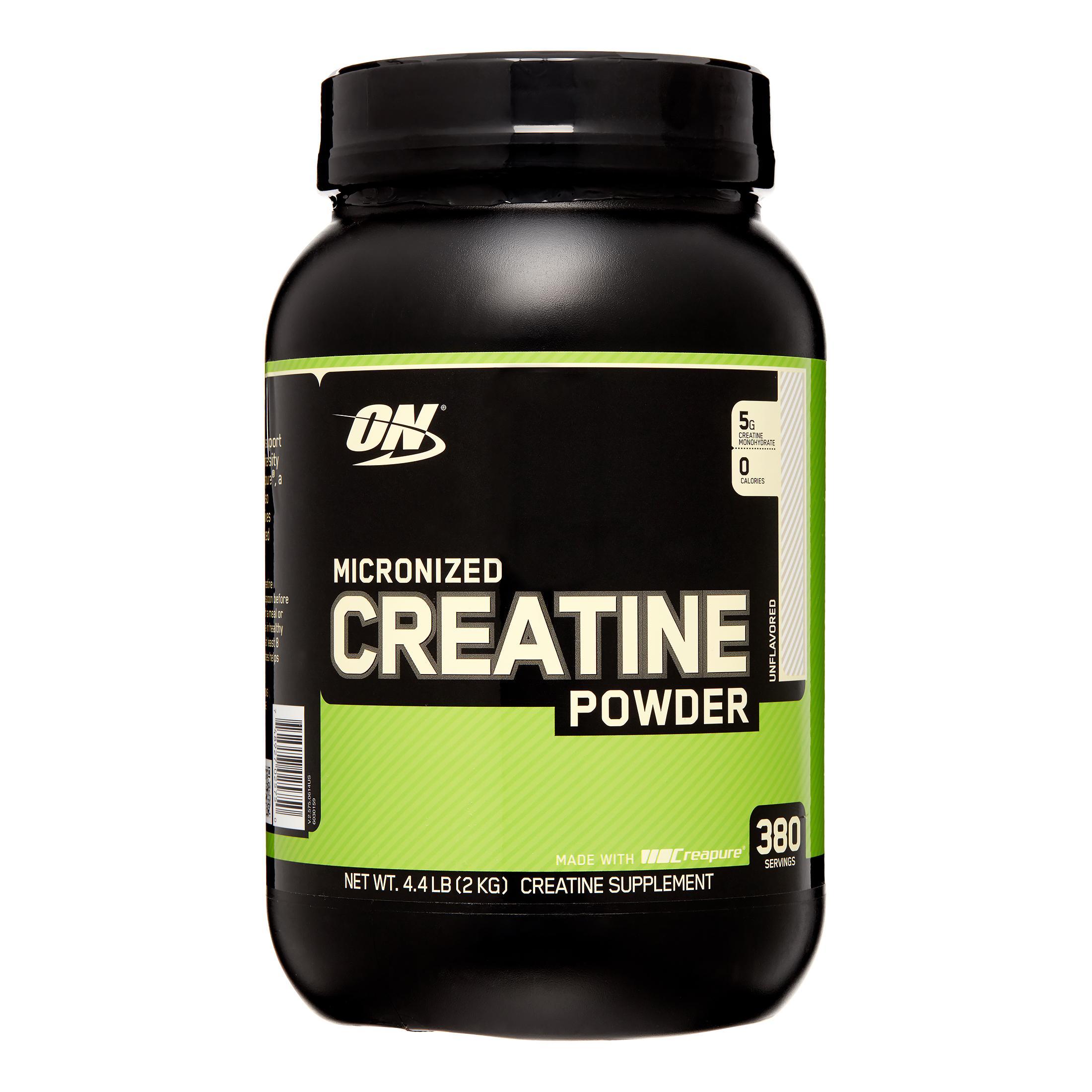 Optimum Nutrition Micronized Creatine Powder, 380 Servings