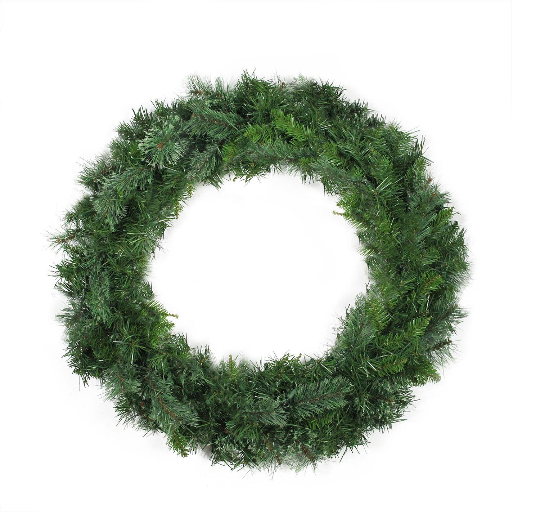 "36"" Atlanta Mixed Cashmere Pine Artificial Christmas Wreath - Unlit"
