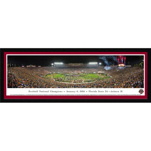 Blakeway Worldwide Panoramas, Inc NCAA BCS Football Championship 2014 by James Blakeway Framed Photographic Print