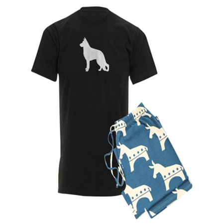 e283dbb05 CafePress - CafePress - German Shepherd - Men's Dark Pajamas - Walmart.com