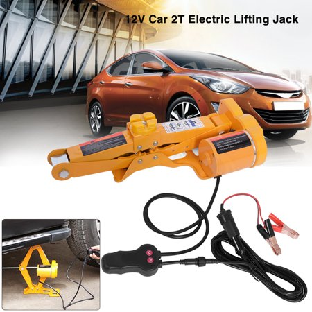 Yosoo Car Electric Jack--2 Ton 12V DC Automotive Car Automatic Electric  Lifting Jack SUV Van Garage and Emergency Equipment