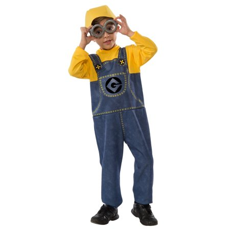 Minions Movie: Minion Boys Costume Blister Set - (Minion Costumes)