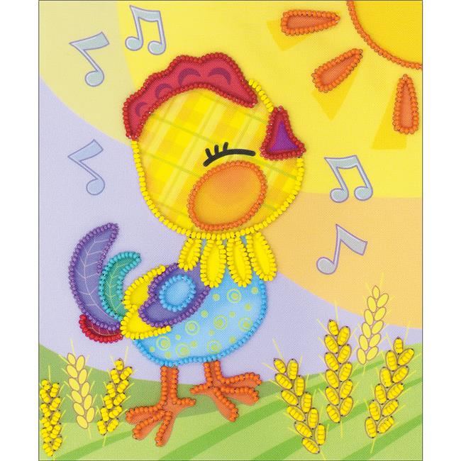 6 x 7 in. Good Morning Stamped Cross Stitch Kit