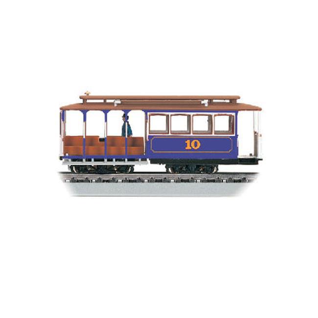 Bachmann BAC60532 4-1/8''L x 1-1/4''W x 1-5/8''H Blue HO Cable Car