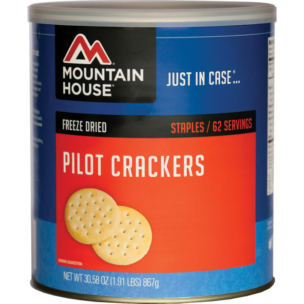 Mountain House Freeze Dried Pilot Bread Crackers Can by Oregon Freeze Dry