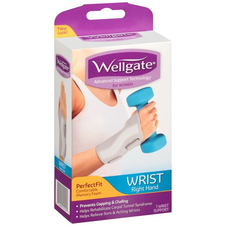 Wellgate™ PerfectFit Wrist Support for Women Right Hand 1 ct. (Best Position To Sleep With Broken Wrist)