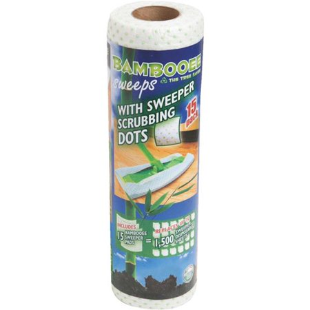 Bambooee Reusable Sweeper Mop Cleaning / Scrubbing Dots Refill Pads (Sweeper Scrubber)