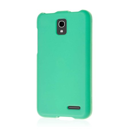 Alcatel Onetouch Pop Star LTE Case, MPERO SNAPZ Series Rubberized Case for Alcatel Onetouch Pop Star LTE - Mint Green (Alcatel One Touch Pop C7)