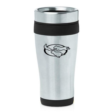 Retriever Travel Mug (16oz Insulated Stainless Steel Travel Mug Rabbit Dog Retriever Hunting Hunter)