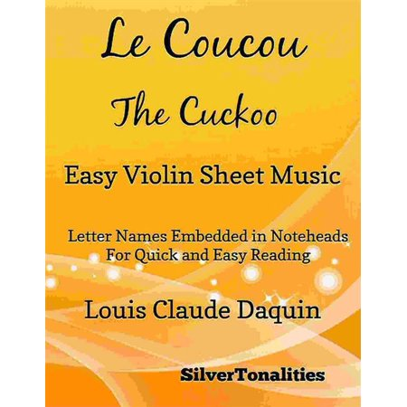 This Is Halloween Violin Sheet Music (Le Coucou the Cuckoo Easy Violin Sheet Music -)