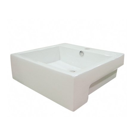 - Kingston Brass Concord Ceramic Rectangular Bathroom Sink Overflow