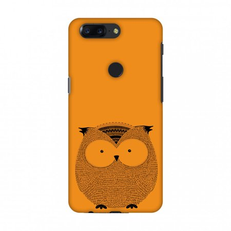 OnePlus 5T Case, Premium Handcrafted Designer Hard Shell Snap On Case Shockproof Printed Back Cover with Screen Cleaning Kit for OnePlus 5T ,Slim, Protective-Owl
