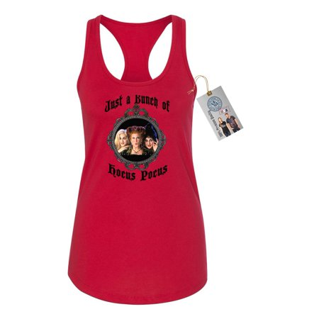 Hocus Pocus Movie Halloween Shirt Womens Racerback Tank Top Red 2XL