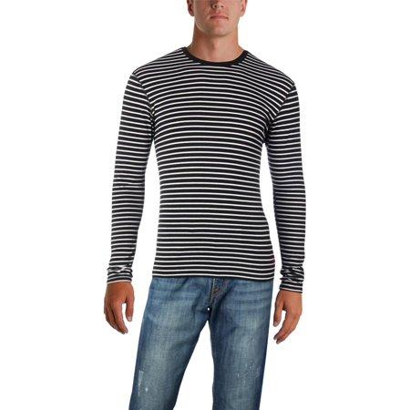 Polo Ralph Lauren Mens Stripe Crew T-Shirt