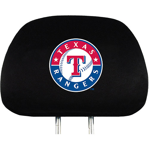 Texas Rangers MLB Head Rest Cover