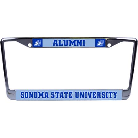 Sonoma State University Alumni Glossy License Plate Frame