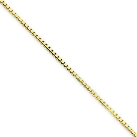 14kt Yellow Gold 1.5mm Box Chain