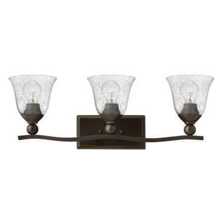(Hinkley Lighting 5893-CL 3-Light Bathroom Fixture from the Bolla Collection)