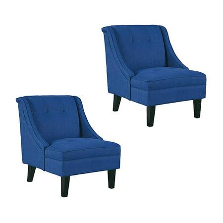 Clarinda Blue Accent Chair 3623260 2 Pack Clarinda Gray Accent