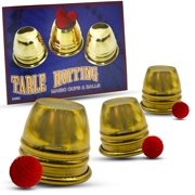 Magic Makers Table Hopping Cups & Balls - Gold