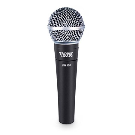 NOVIK NEO FNK 580, Professional Dynamic Microphone with Cardioid Polar Pattern & Cable, Unidirectional, Connector: XLR,