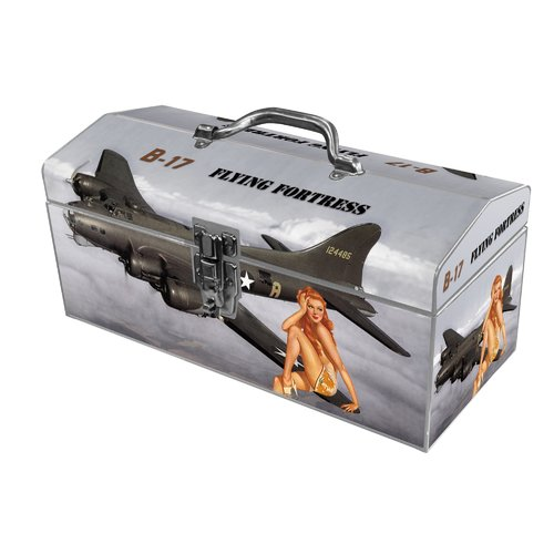 Sainty Art Works 24-040 Flying Fortress Art Deco Tool Box
