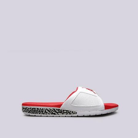 7b861e3ab Jordan - Jordan Men s Nike Hydro III Retro Slide Sandal-White Fire Red -  Walmart.com