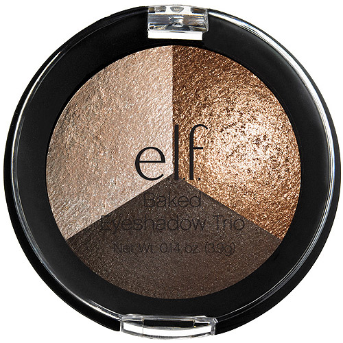 e.l.f. Studio Baked Eyeshadow Trio, 81292 Brown Bonanza, 0.14 oz