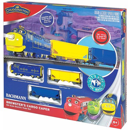 Bachmann Trains Chuggington Brewster\'s Cargo Caper, HO Scale Ready ...