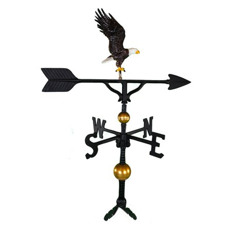 Deluxe Color Full Bodied Eagle Weathervane - 32 in.