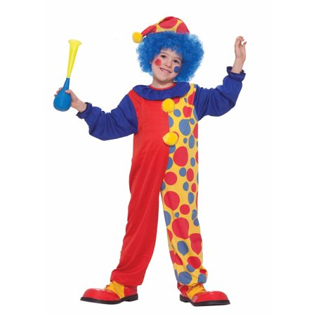 Scary Clowns Costumes For Kids (Halloween Child Clown Costume)