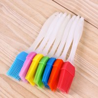 5 PCS Silicone Baking Bakeware Bread Cook Brushes Pastry Oil BBQ Basting Brush Tool Color Random