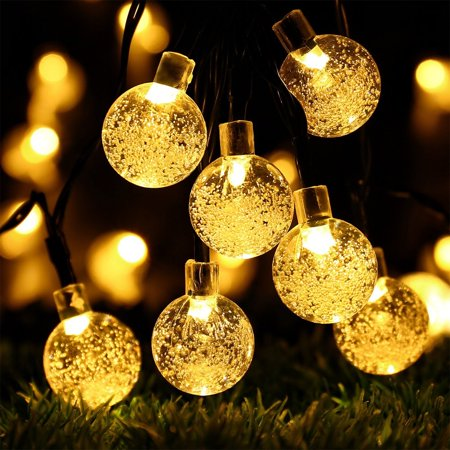 Globe Battery Operated String Lights with Timer - RECESKY 30 LED ...