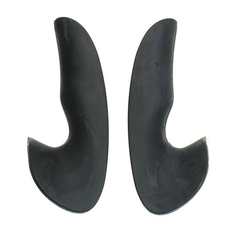 Black Steering Wheel Thumb Grips Replacement Rubber For Renault Sport RS Clio MKII 172 - image 8 of 10