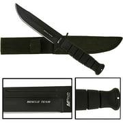 "Whetstone 10.5"" Covert Black Hawk Hunting Knife"