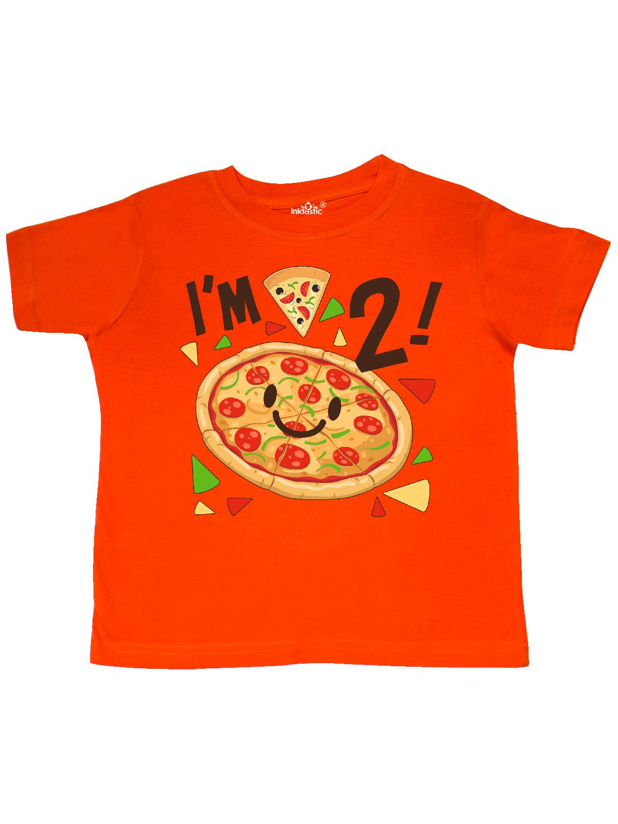 Im Two! pizza birthday party Toddler T-Shirt