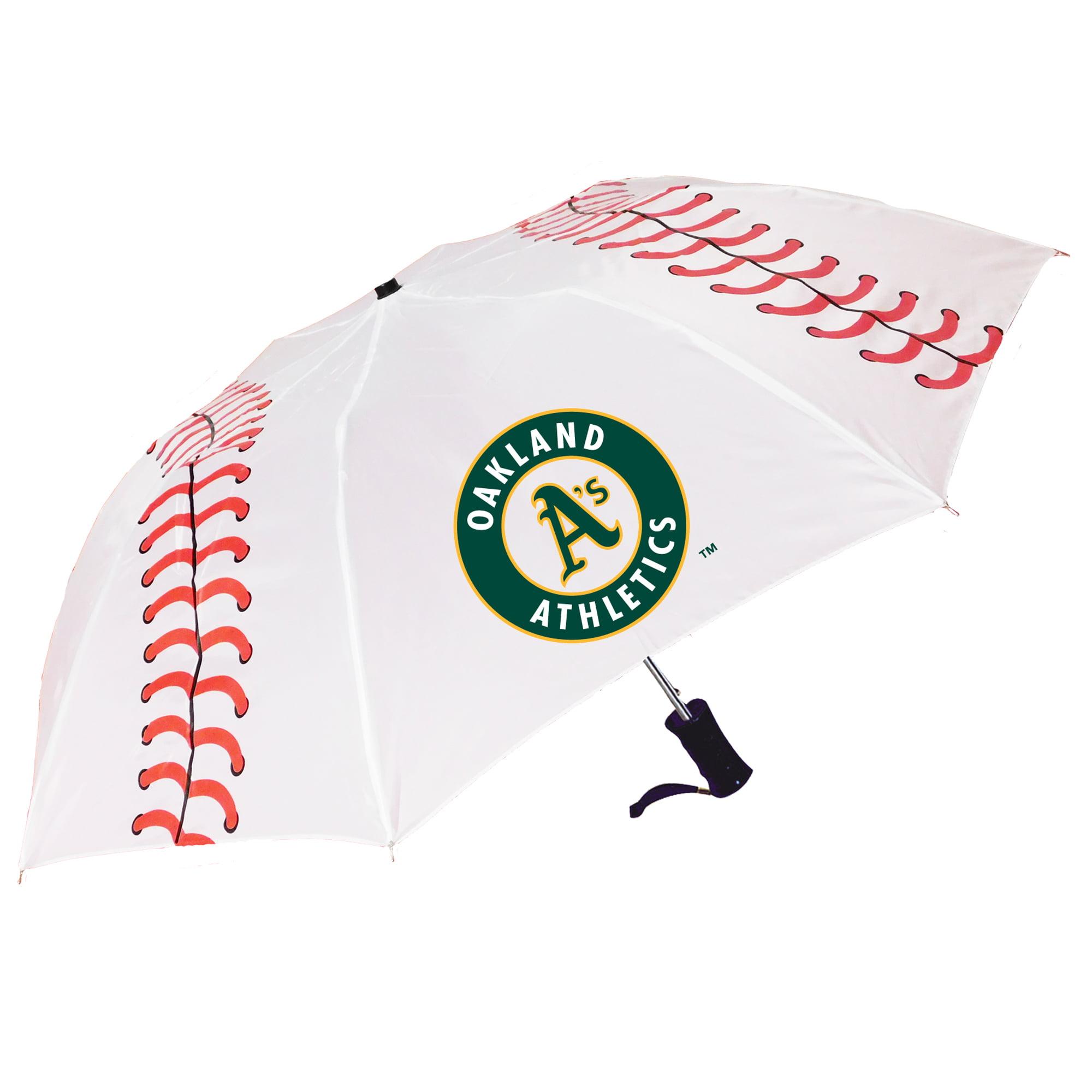 Storm Duds Oakland Athletics Baseball Folding Umbrella - No Size